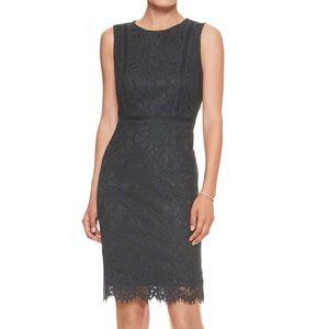 BANANA REPUBLIC Lace Sheath Dress